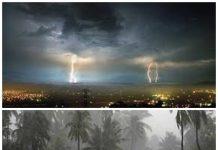 พายุถล่ม